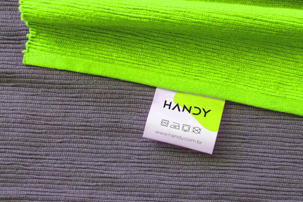 etiqueta para nova marca Handy