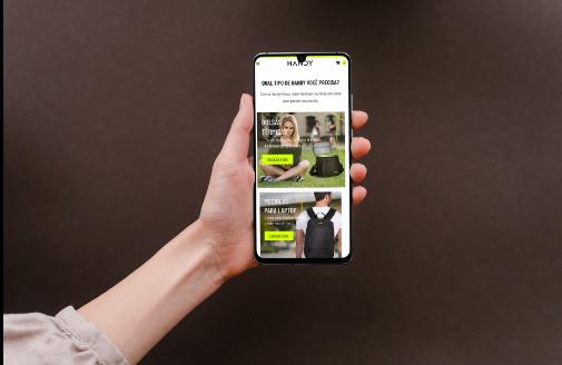 E-commerce nova marca - mobile
