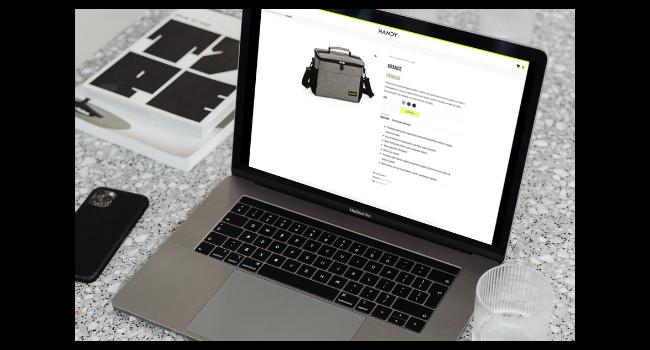 e-commerce para nova marca - página produto
